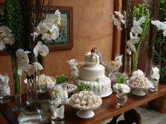 decoração de mesa de bolos - Pesquisa Google