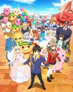 Amagi Brilliant Park #anime #manga -comedy/fantasy/magic/romance/shounen