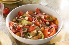Heirloom Tomato Salad Recipe - Kraft Canada