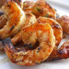 Crevettes grillées au pimenton et mayonnaise au Rosé de Chartier infusé au safran Par Tastevino