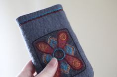 Memel Felted phone case by Onstail on Etsy, $32.00