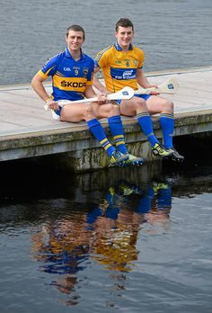 Ahead of their Allianz Leagues clash Tipperary's Shane McGrath and Nicky O'Connell of Clare were in Kilaloe as part of the GAA's Regional Media Days in support of the Allianz Leagues.