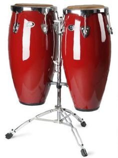 I want me some red bongo drums!