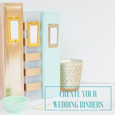 A how-to-guide on how to create wedding binders - Replay on Periscope available and you can also purchase the entire guide with editable templates