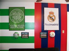 adam likes celtic fc they share a bedroom so colleen