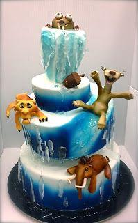 Beautiful Ice Age Cake