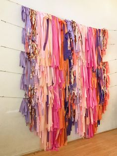 Your place to buy and sell all things handmade Streamer Backdrop, Diy Photo Backdrop, Party Streamers, Wall Backdrops, Plastic Tablecloth Backdrop, Paper Backdrop, Photo Backdrops, Backdrop Ideas, Diy Party Decorations