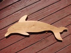 Wood dolphin, Seaside Style