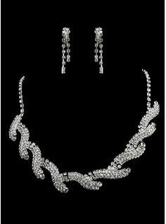 fantastique dames collier de perles et boucles d'oreilles ensemble de bijoux (011006364)