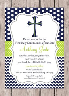 Baptism Favor Tags or Stickers / Navy Blue Lime by ciaobambino