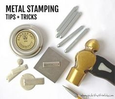Learn some great tips and tricks on how to metal stamp