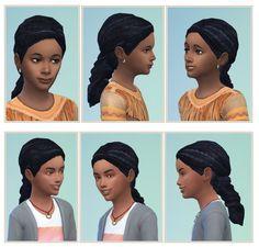 Kids Dreads at Birksches Sims Blog via Sims 4 Updates