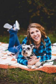 Indianapolis Senior Photographer | casey and her camera | senior posing | senior girl | senior photo laying down | senior photos with dog