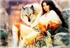 ANIMATED NATIVE AMERICANS GIFS photo: Keeper of Wolves Keeperofwolves.jpg