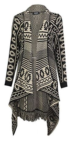 Forever Women's Aztec Diamond Print Knitted Waterfall Cardigan Forever http://www.amazon.com/dp/B00INYPIW0/ref=cm_sw_r_pi_dp_b8p0vb1H3PH0M
