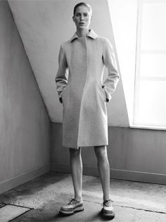 Jil Sander Keeps it Simple for Fall 2014 Ads with Iselin Steiro