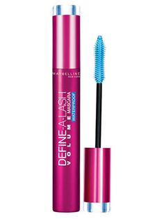 Maybelline New York Define-a-Lash Waterproof Mascara voluminizes lashes and resists smudging. #makeup #beauty #mascara