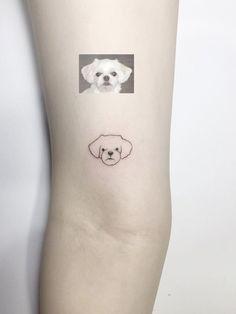pet dog tattoo