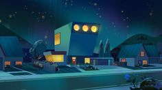 PPG reboot House. The Design of the house, I got a chance to collaborate with amazing Hugo Moreno. The last four sketches were done by me after concept/inspiration sketches of Hugo. Check out his website! Tania Franco and I painted different angle...