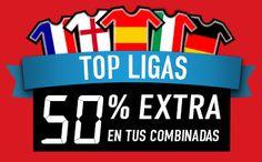 el forero jrvm y todos los bonos de deportes: sportium SuperCombis TopLigas: Hasta un 50% más 15...