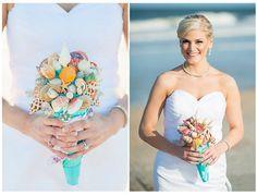 Summer seashell wedding...
