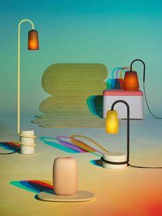 Réglisse, caramel, malabar ? des luminaires acidulés comme des bonbons, par le Designer suisse Adrien Rovero