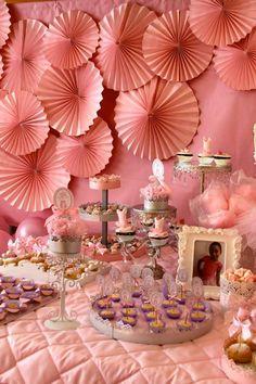 Pink Party aniversário da bailarina via Idéias do partido de Kara |. Kara'sPartyIdeas com # # Ballet PartyIdeas # Suprimentos # Girl # Pink (9)