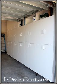 Palo alto white tall garage cabinet need these in my garage to do it yourself decorating ideas how to instructions for projects before and after transformations solutioingenieria Image collections