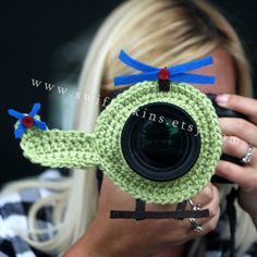 Helicopter lens buddy. Camera critter. by KikisKreationsprops