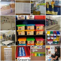 Take a peek into Art rooms from all over from the Teaching Pallette.