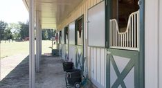 One-of-a-Kind Metal Horse Barn | Metal Building Homes