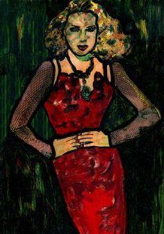 "Saatchi Art Artist CRIS ACQUA; Painting, ""14-KARMA de ARTE. Yo SOY."" #art"