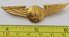 Pilot Uniform, Airline Cabin Crew, Metal Wings, Airline Flights, Flight Attendant, Vintage Metal, Airplane, Badge, American