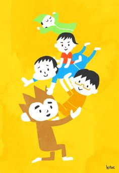 My Family Illustration