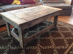 Hey, I found this really awesome Etsy listing at https://www.etsy.com/listing/176425919/pallet-coffee-table