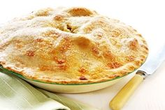 Old-fashioned  English Apple Pie