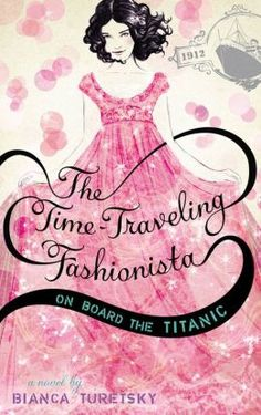 """The story begins when Louise, a stylish seventh-grader from Connecticut, tries on a dress at a vintage sale that used to belong to a film star. Then suddenly, she's transported, and becomes a passenger on [a] massively luxurious cruise ship in a sea of glamorous people with gorgeous clothes. The story takes tons of twists and turns as Louise figures out whether her alter-ego can change history and stop the ship from sinking"""" ( seveneteen.com)"""