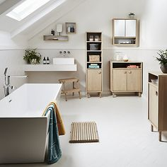 Buy John Lewis Bergen Bathroom Furniture Range Online at johnlewis.com