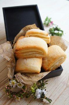 簡単 [捏ねない&発酵30分!] メロンパンみたいなオイルデニッシュ |珍獣ママ オフィシャルブログ「珍獣ママのごはん。」Powered by Ameba