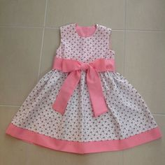 Frocks For Girls, Little Girl Outfits, Kids Outfits Girls, Toddler Girl Dresses, Little Girl Dress Patterns, Baby Girl Dress Patterns, Baby Dress Tutorials, Kids Frocks Design, Kids Gown