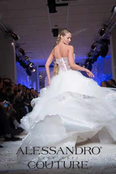 #WeddingDress #AlessandroAngelozziCouture #Collection2014