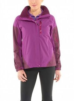 Marmot Tamarack Womens 4550-6788 Purple Grape Rain Jacket Gear Wmns Size S