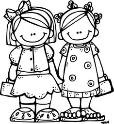 Several drawings of children can be found here - Melonheadz LDS illustrating