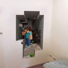Cartoon 3D DIY Wallpaper For Kids Rooms/Bedroom/Living room/Interior Design