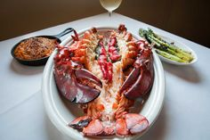 Rothmann's Steakhouse, East Norwich: The steamed lobster at Rothmann's almost symbolizes summertime dining.