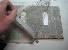 Como fazer exterior de pedras - Capela