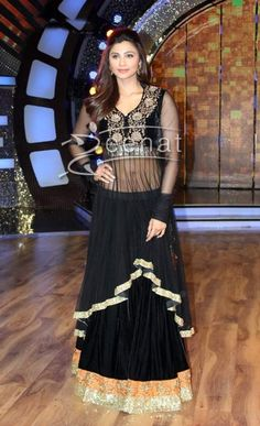 New Bollywood Replica Daisy Shah Black suit Only In 1250 www.voguefashion.co