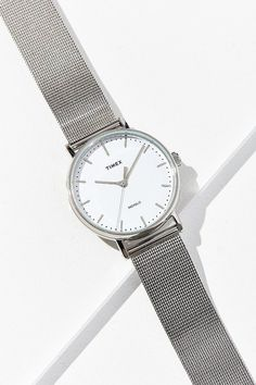 Shop Timex Fairfield Mesh Watch at Urban Outfitters today. We carry all the latest styles, colors and brands for you to choose from right here. Silver Color Palette, Mesh Bracelet, Stainless Steel Mesh, Minimal Chic, Promise Rings, Cleaning Wipes, Silver Jewelry, White Gold, Engagement Rings