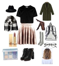 """""""Untitled #64"""" by hlh14 on Polyvore featuring Boohoo, SPANX, Samantha Holmes, International, Gucci, Barneys New York, Yves Saint Laurent and Anastasia Beverly Hills"""