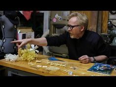 Intersection of two worlds: Adam Savage builds a Theo Janssen Strandbeest Model Kit